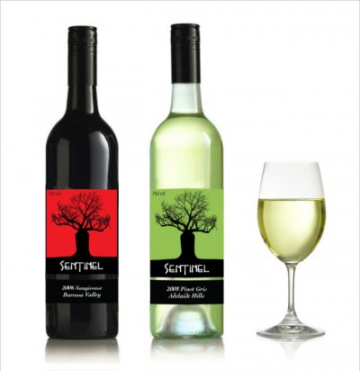 'Sentinel' wine labels
